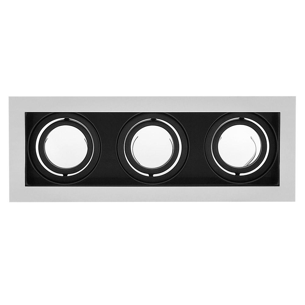Spot MOFFI-N housing GU10 triple basculante