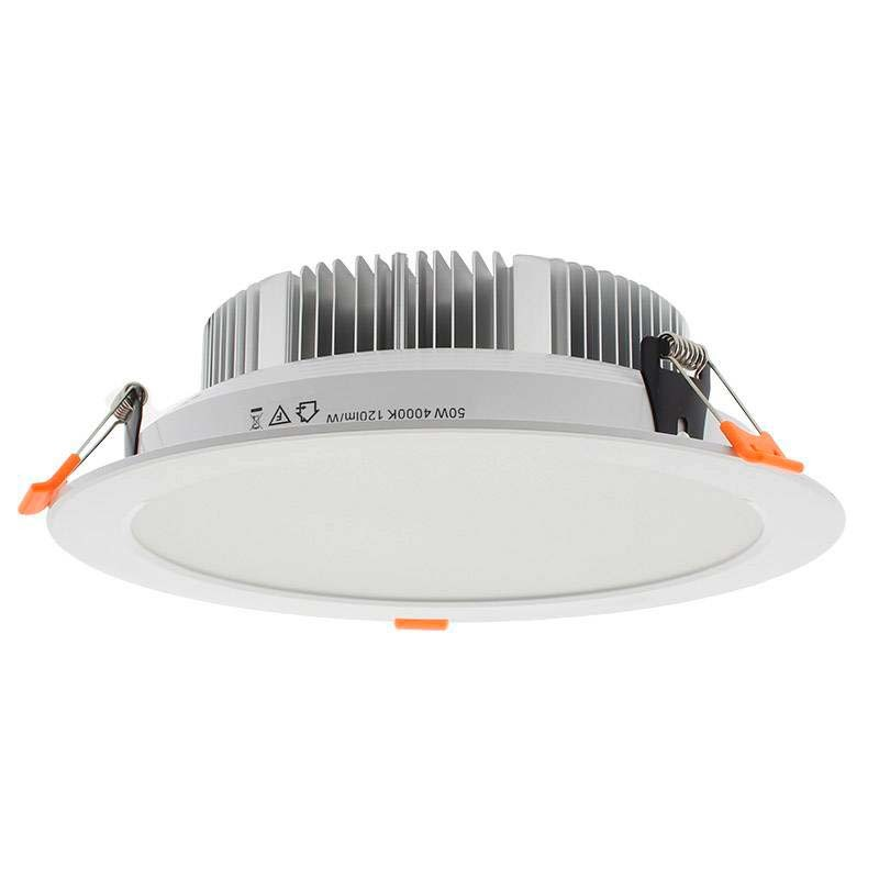 Downlight Led WOOK, 50W, regulable TRIAC, Blanco cálido