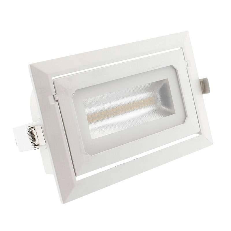 Downlight Cronolux LED 36W, regulável TRIAC, CCT ajustável