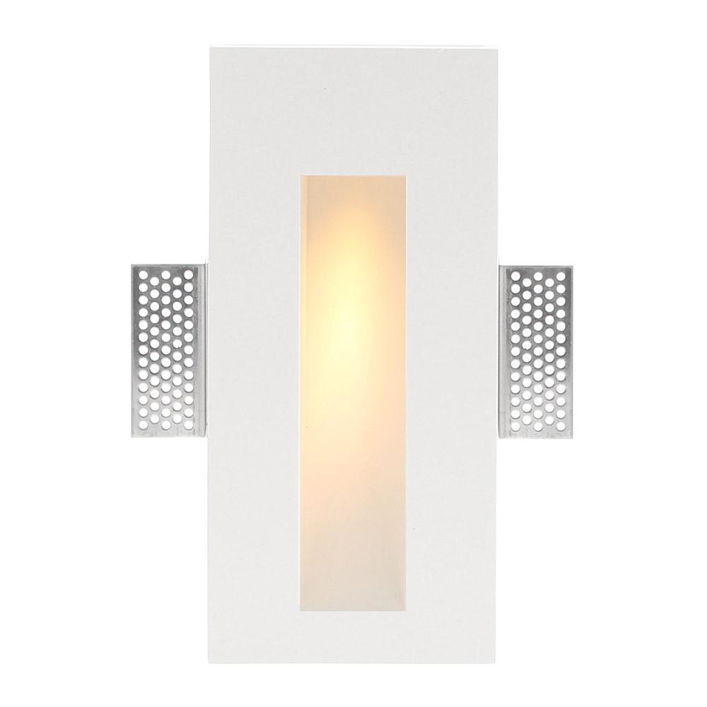 HUTT Baliza empotrada escayola, 110x245mm, 1W