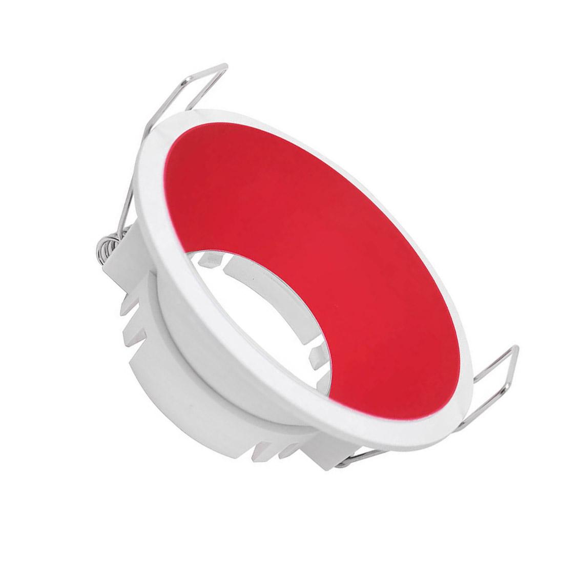 Spot fixo redondo Vermelho URG19