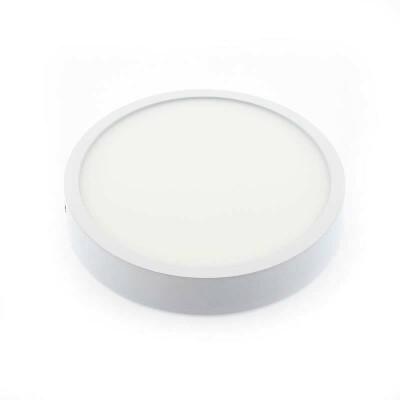 Plafón Led SLIM ROUND EPS 12W, Blanco cálido
