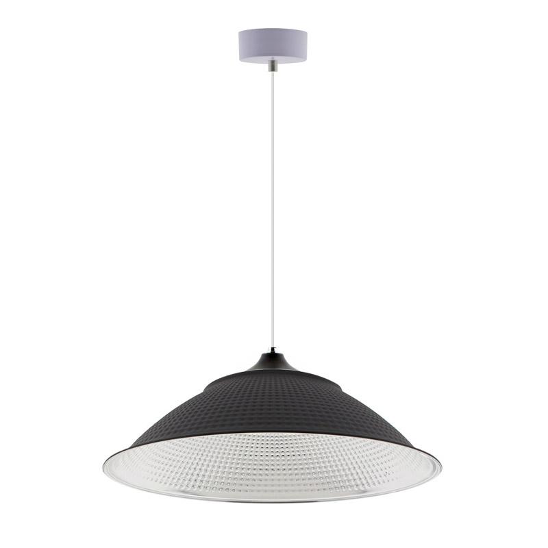 Candeeiro suspenso INDUSTRIAL LAMP preto Housing 120º Ø450mm