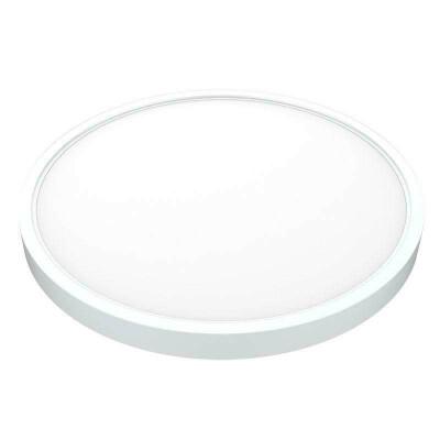 Plafón Led KRAMFOR R 25W, superficie, Blanco cálido