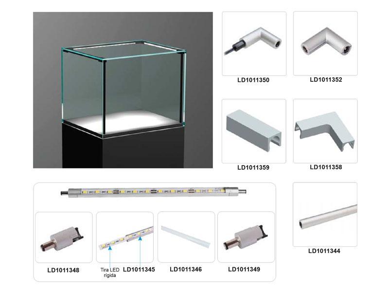 Vitra lux m 100cm 44w ledbox for Piscina rigida rectangular