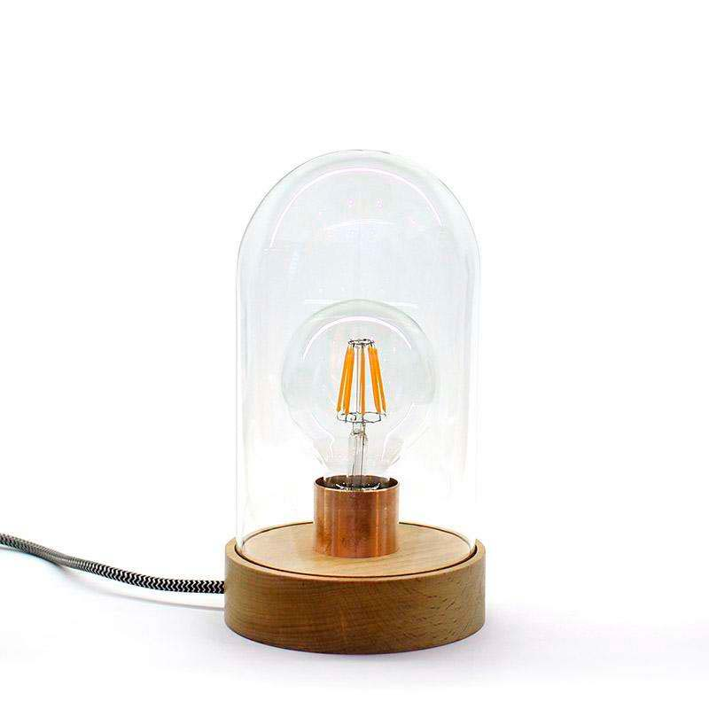 Fanal decorativo LED BELL JAR 220, 8W, regulable