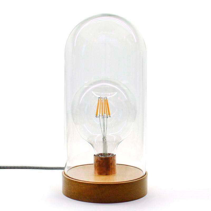 Farol decorativo LED BELL JAR 330, 8W, regulável