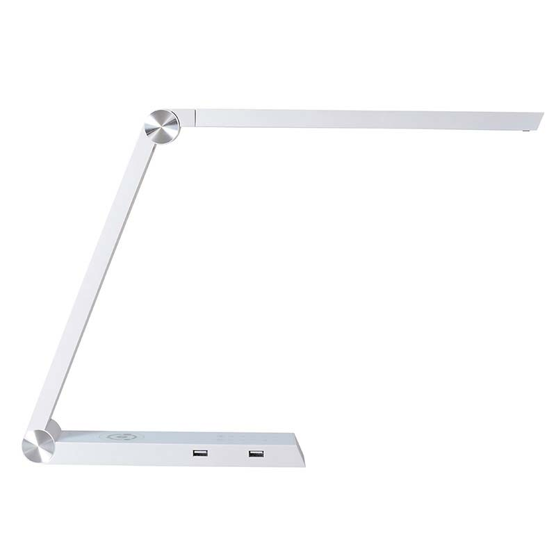 Lámpara de estudio Blanco TRIANGLE  con Cargador Inalámbrico TI