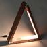 Lámpara de estudio Gold TRIANGLE  con Cargador Inalámbrico TI