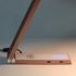 Lámpara de estudio Rose Gold TRIANGLE con Cargador Inalámbrico TI