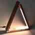 TRIANGLE Lámpara de estudio Negro + Cargador Inalámbrico TI
