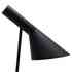 Lámpara JACOBSEN de mesa, réplica, Negro