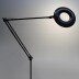 Lámpara de pie BRESSLO articulada, negro