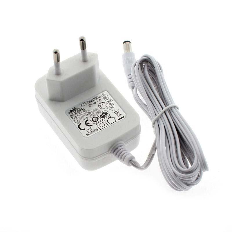 Adaptador de corriente BRESSLO DC12V/12W/1A blanco