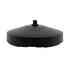 BASE Baround pie Acero Lacado Negro Ø225mm