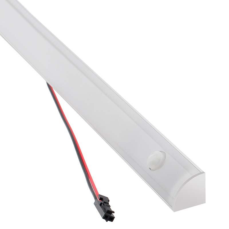 Barra linear LED KORK com sensor PIR 10W, DC12V, 61cm