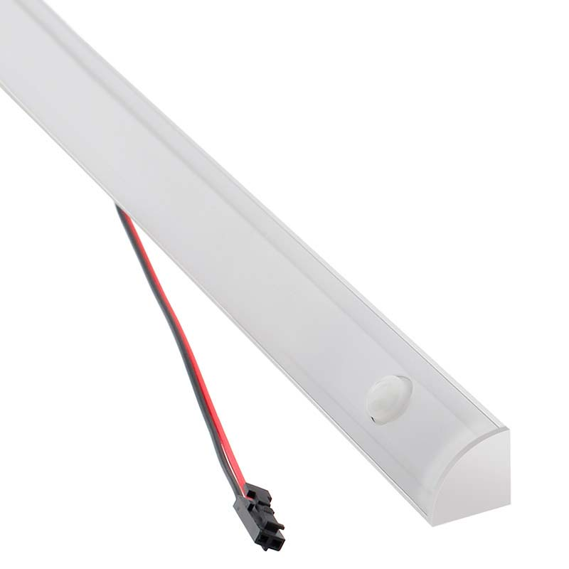 Barra lineal LED KORK con sensor PIR 24W, 116cm
