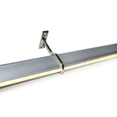 LOCKER KIT barra con luz Led de 55cm para armarios, Blanco cálido