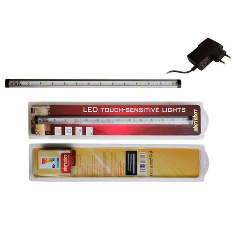 KIT Barra lineal led FINGER Dimmer Touch 5W, 50cm