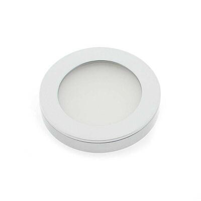Spot RODIO Silver 2W, Blanco neutro