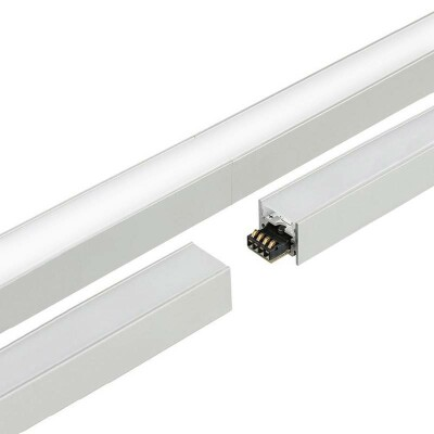 Barra led CONNECT, 14,4W, 100cm, Blanco cálido