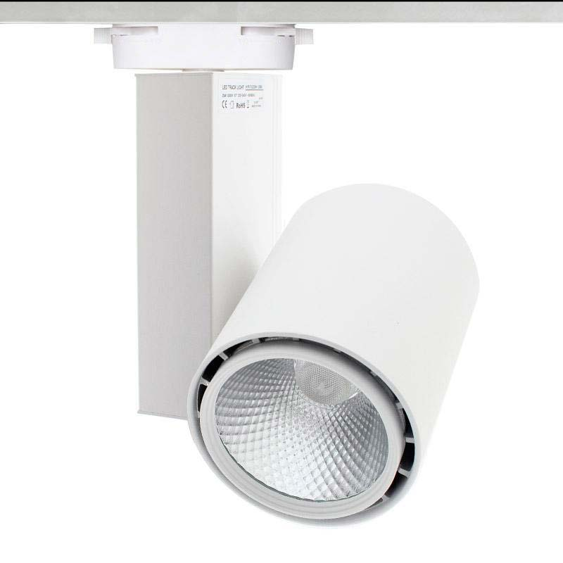 Foco carril DOMO CITIZEN led + TUV driver, blanco, 40W
