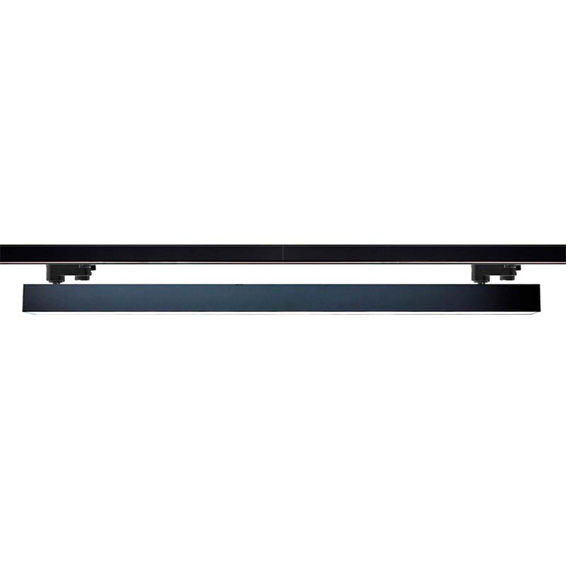 Foco carril LINEAL TRACK 1200 RAIL, 40W, Tridonic, negro