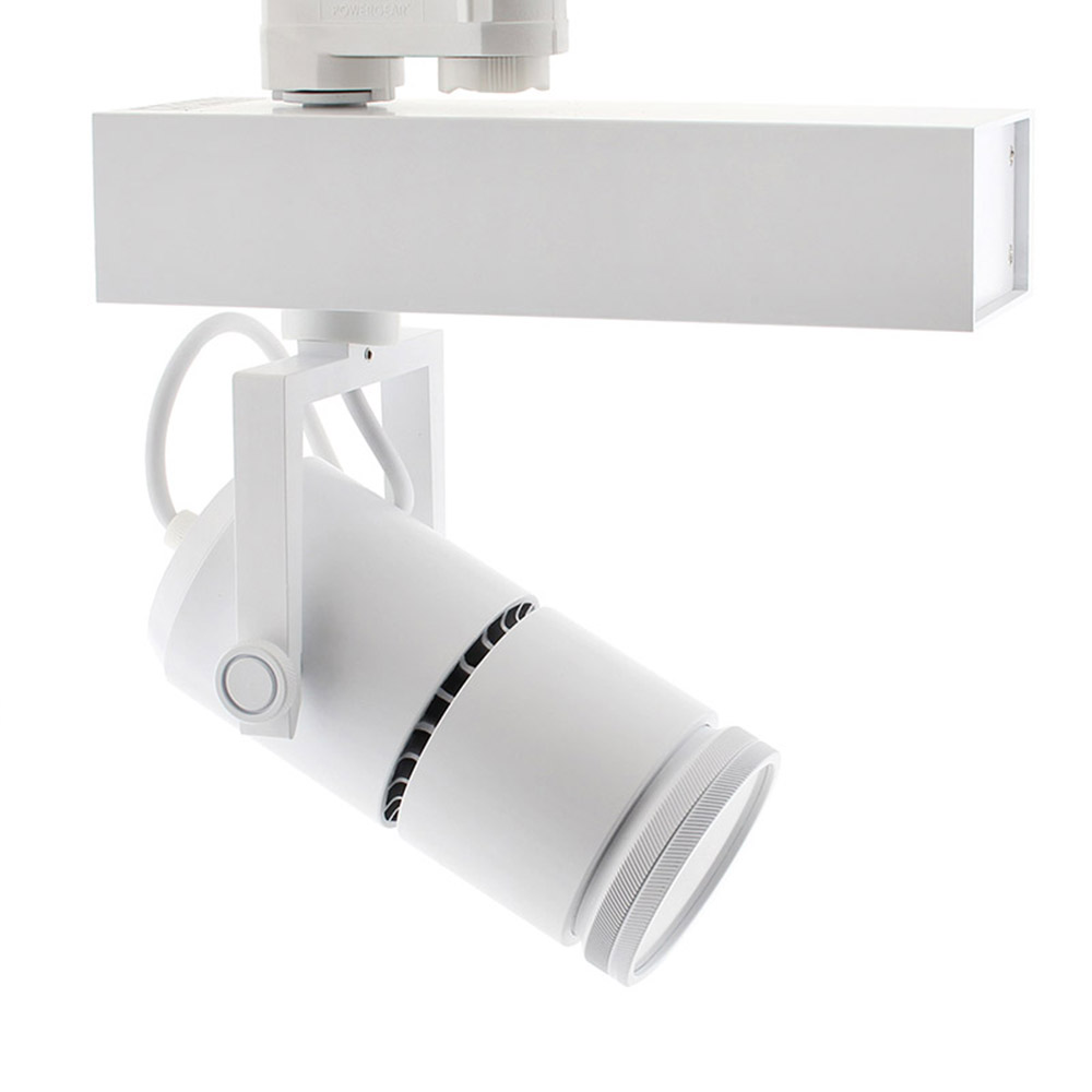 Foco carril TELESCOPIC CITIZEN LED, 28W, 10º-70º, blanco, Regulable