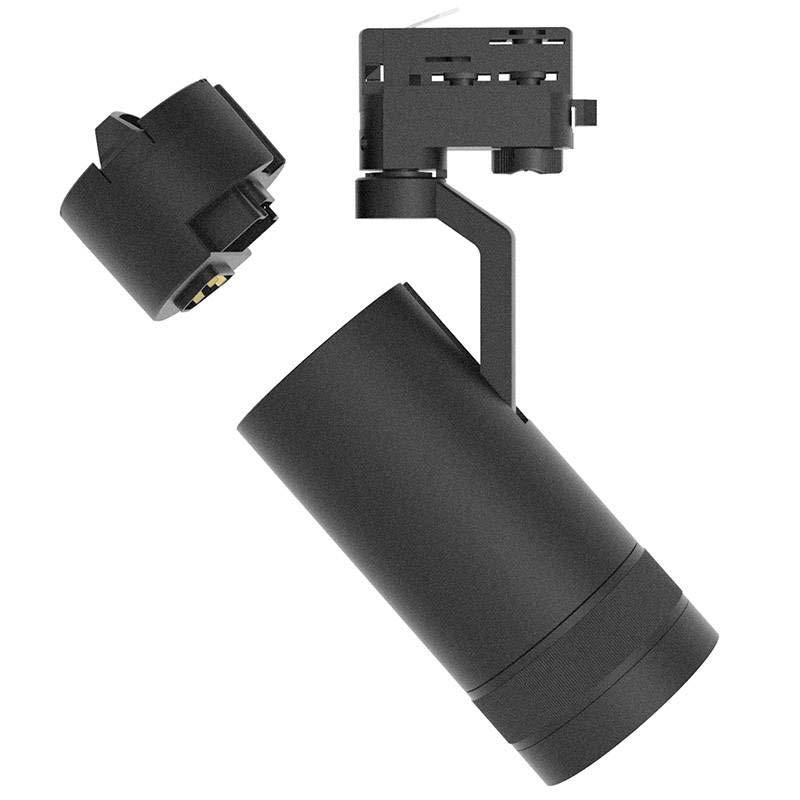Foco LED para Carril Trifásico MODULAR CITIZEN 30W, 10º-60º, negro, Plug Driver