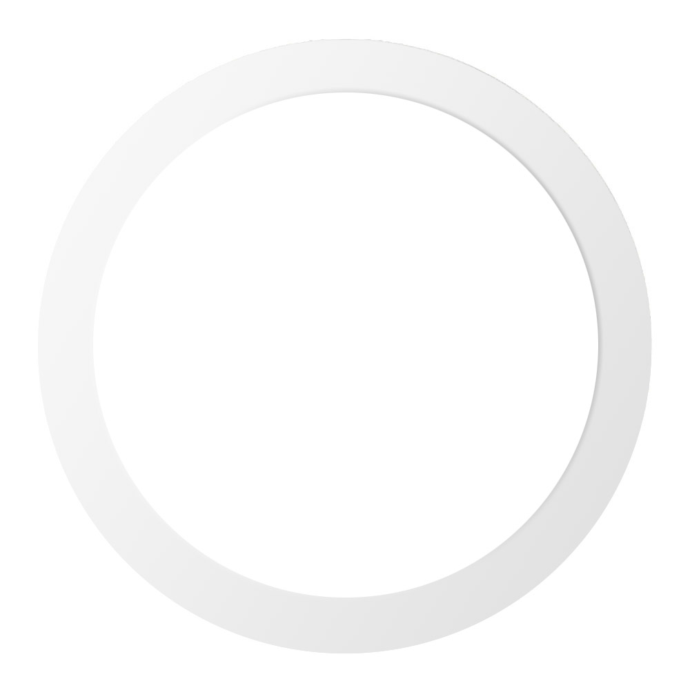 Anel Suplementar para Downlight Ø208-255mm, branco