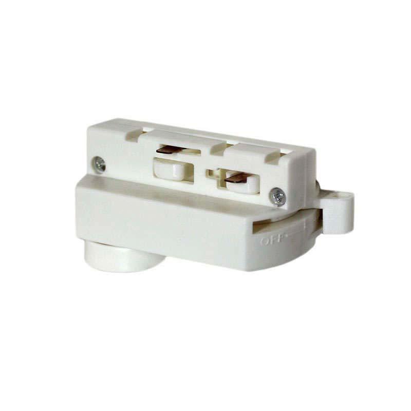 Conector foco a carril bifásico