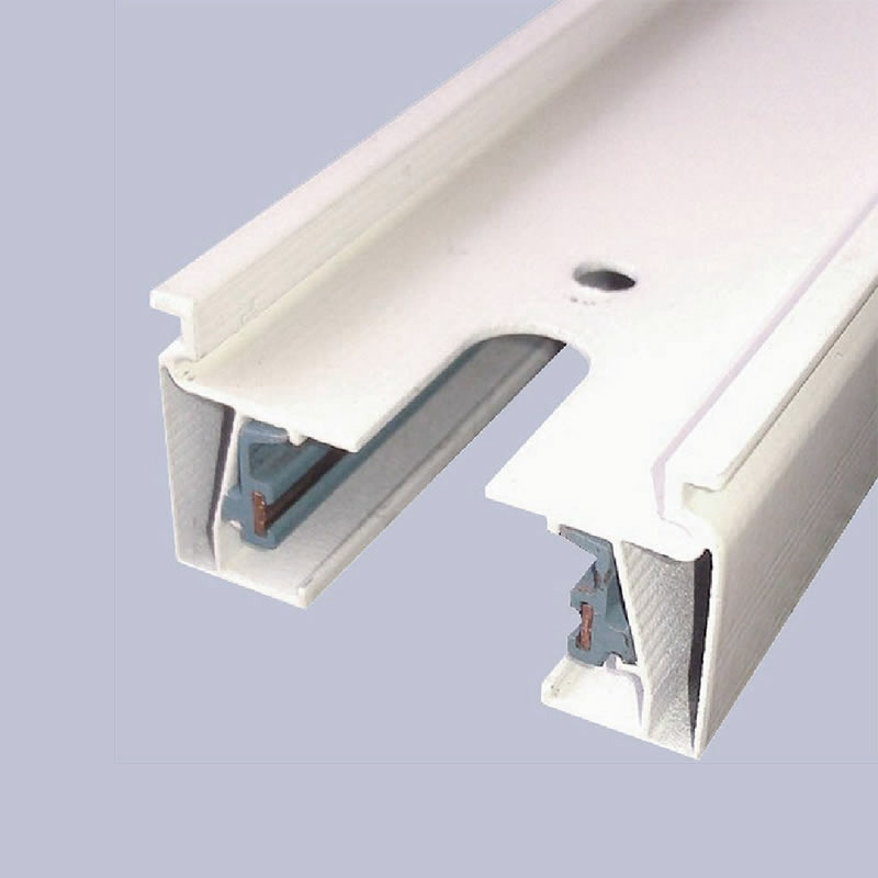 HYR-TR200CM2W ( 2M ) - 2-wire rail WHITE 2meters, square