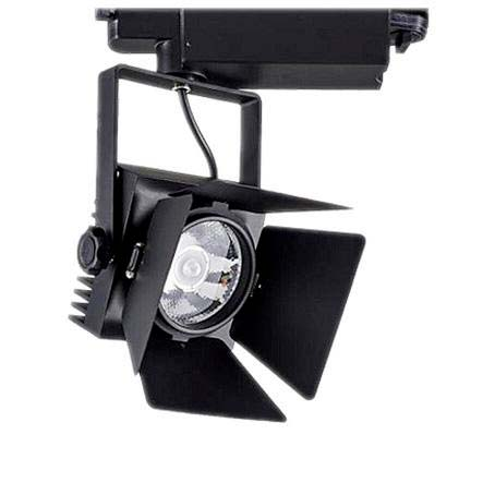 Foco carril Monofásico CINEMA CREE LED, negro, 35W