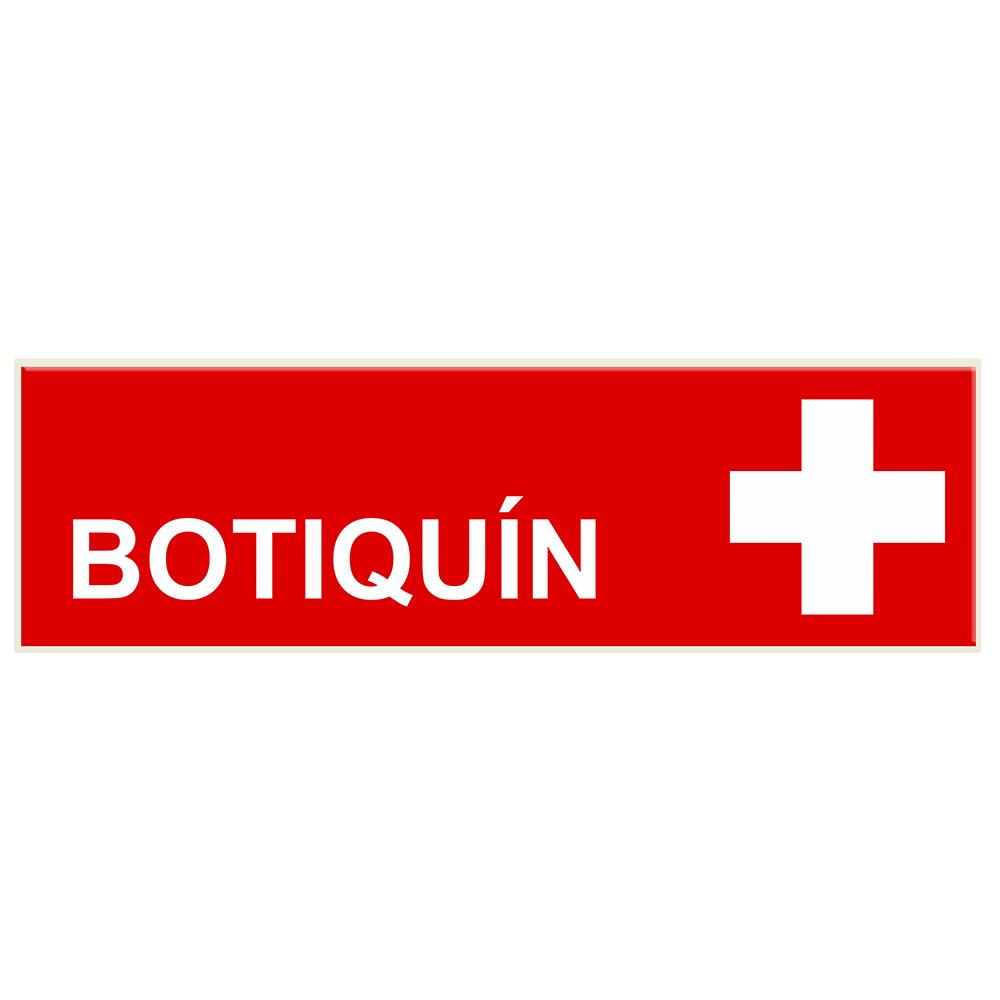 Señal de Botiquín. Señalética SL59 para BIGLUX