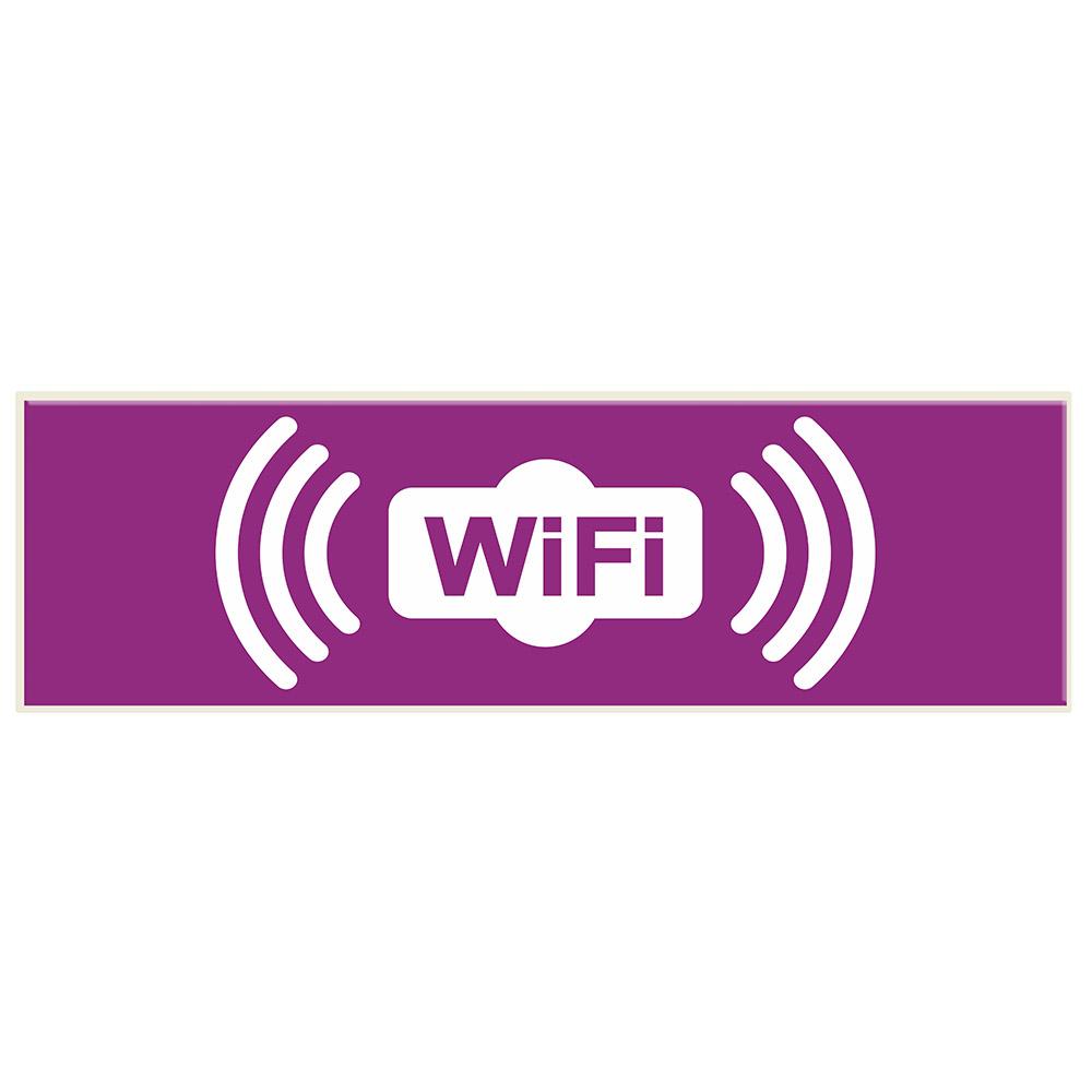 Señal de WiFi. Señalética SL60 para BIGLUX