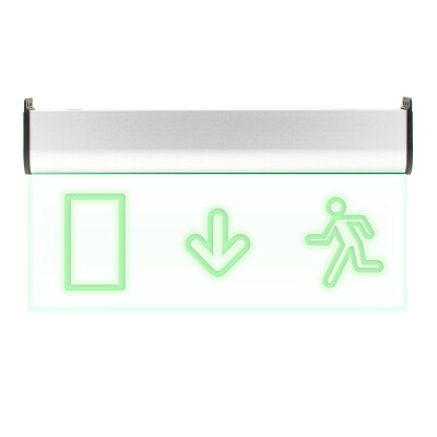 Luz LED de emergencia SIGNALED SL03 Permanente, Verde