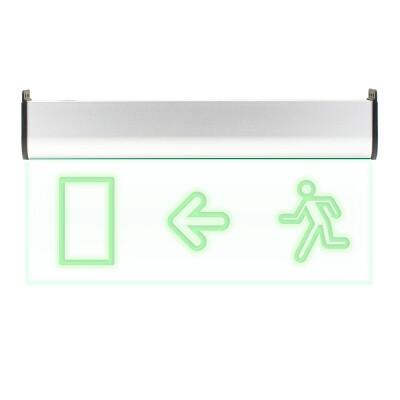 Luz LED de emergencia SIGNALED SL04 Permanente, Verde