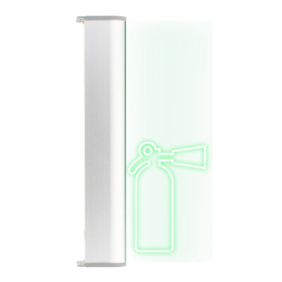 Luz LED de emergencia SIGNALED SL11 Permanente, Verde