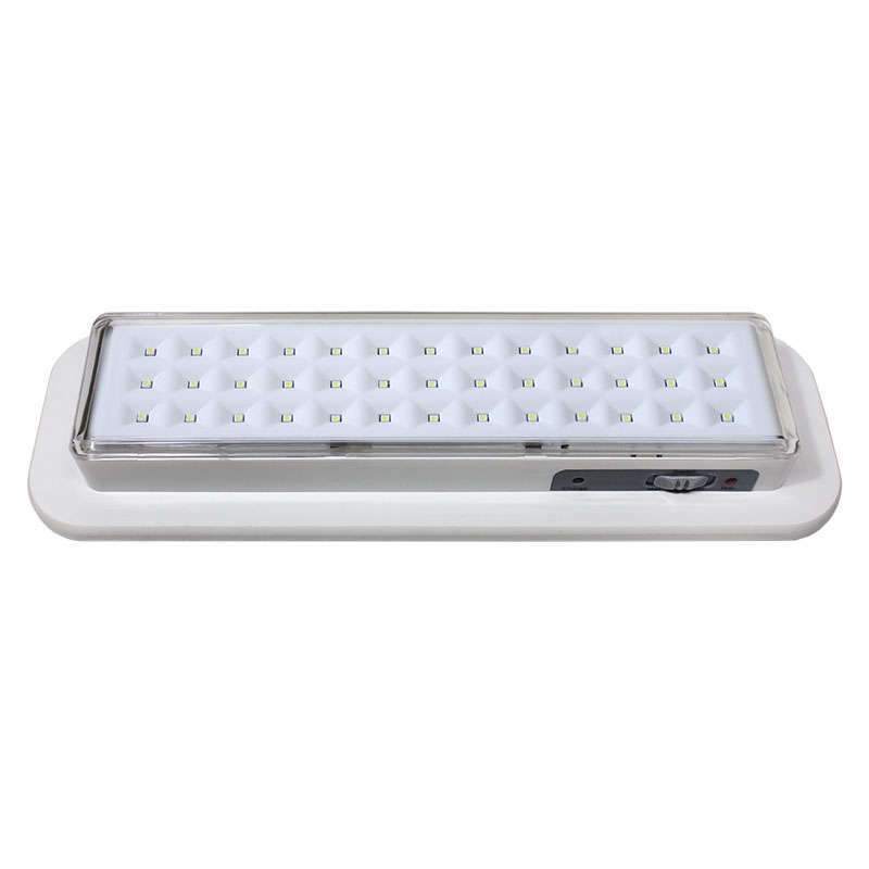 Luz de emergencia Led EMERLUX F320 permanente empotrable techo
