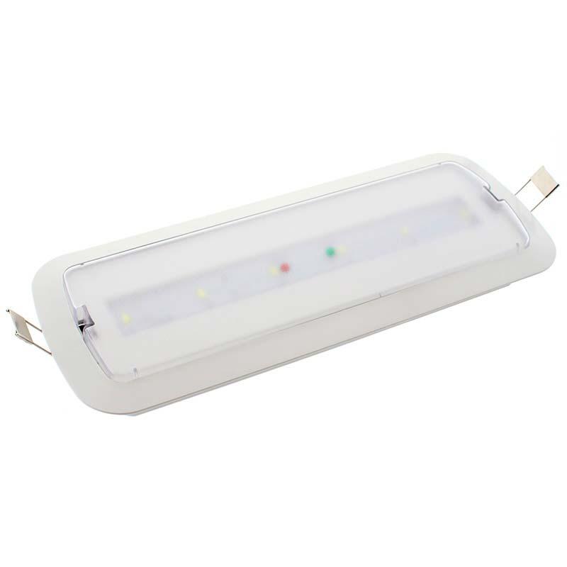 Luz de emergência LED NICELUX, Permanente / Não permanente
