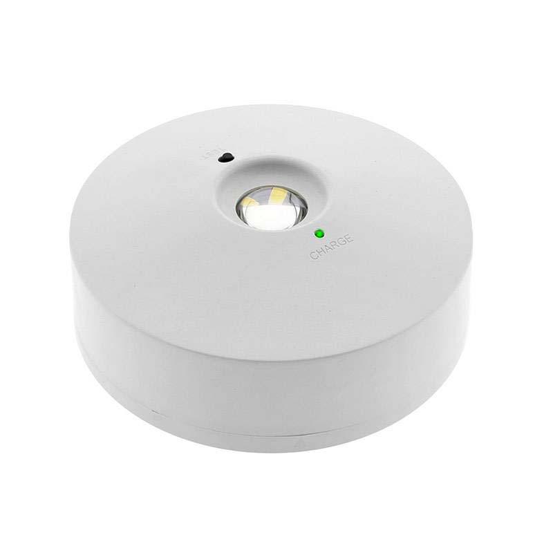 Luz de emergência LED WALL, Permanente / Não permanente