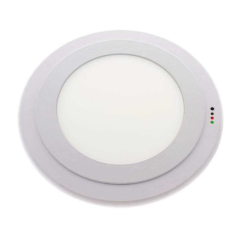 Luz de emergencia LED KOOF, Permanente / No permanente
