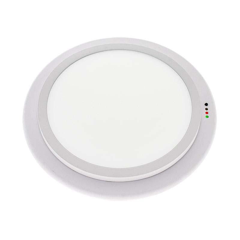 Luz de emergencia LED ROUND, Permanente / No permanente