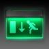 Luz LED de emergência permanente SIGNALED PERSONALIZADO