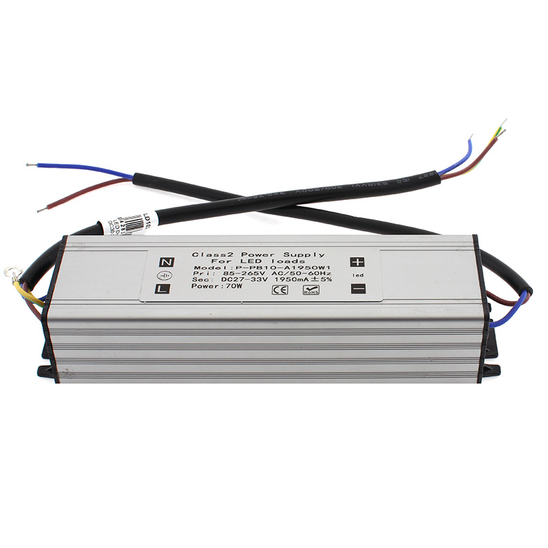 LED Driver 70W, 30-36VDC, 2100mA, Courant Constant