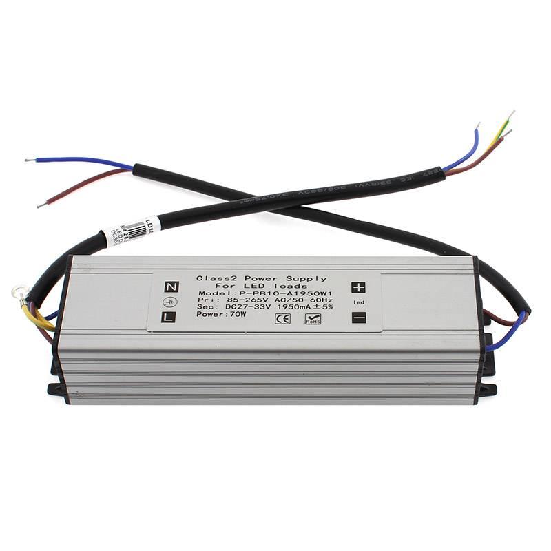 LED Driver DC30-36V/70W/2100mA