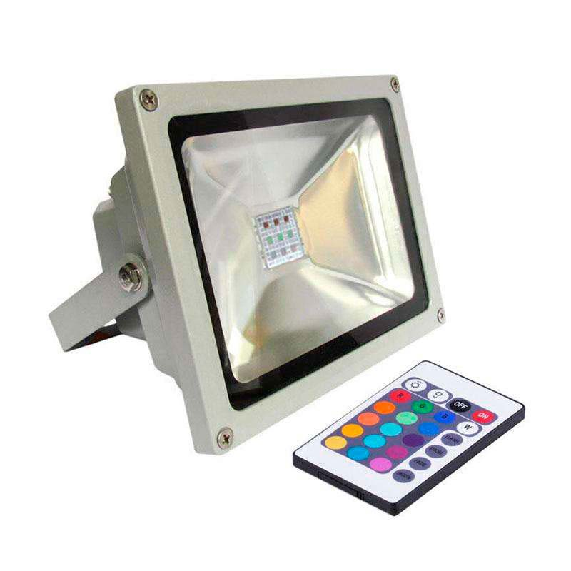 Proyector Led de exterior MICROLED, 30W, RGB