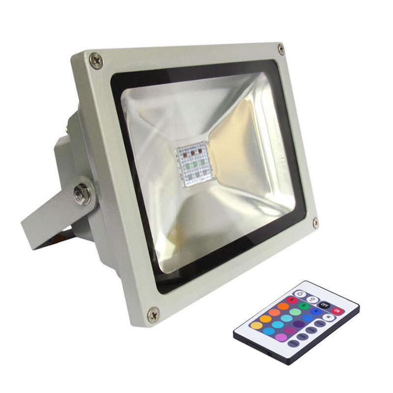 Proyector Led de exterior MICROLED, 50W, RGB