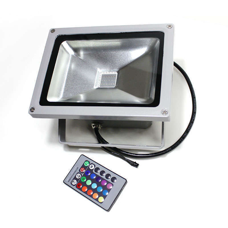 Proyector Led de exterior MICROLED, 10W, RGB