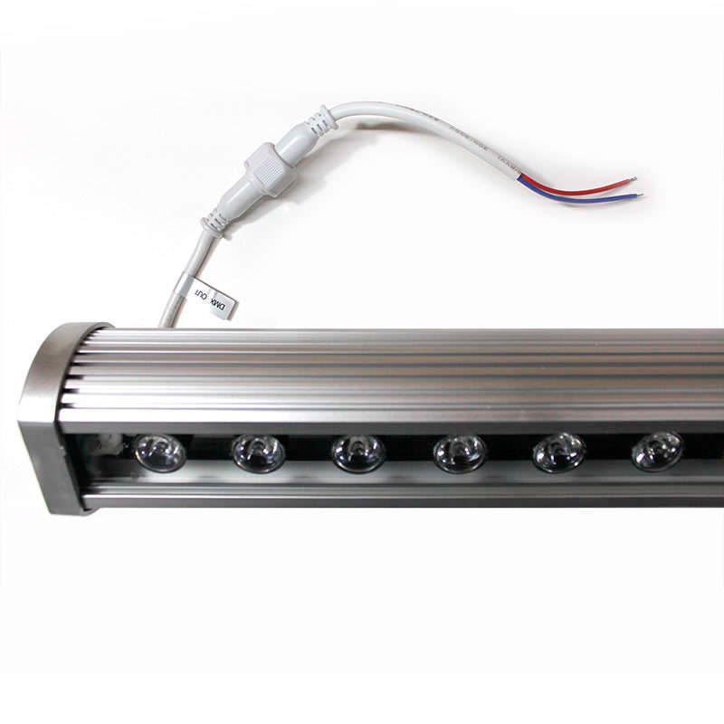 Linear LED Wall Washer RGB-DMX512, 24W, 220V, 1m